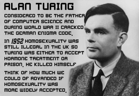 Alan Turing. Repro archiv