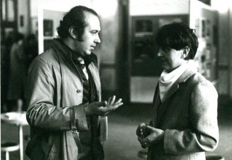 S teatroložkou Helenou Albertovou. FOTO archiv DÚ