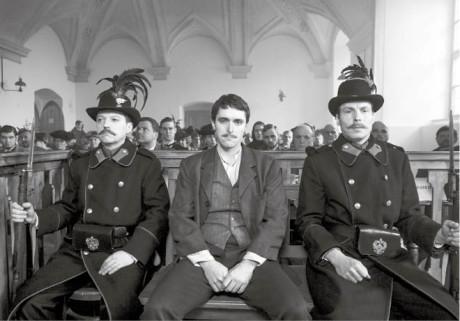 Zločin v Polné je varovnou analogií k dnešní podobě masové xenofobie (Karel Heřmánek ml. v roli Hilsnera)  FOTO YAN RENELT