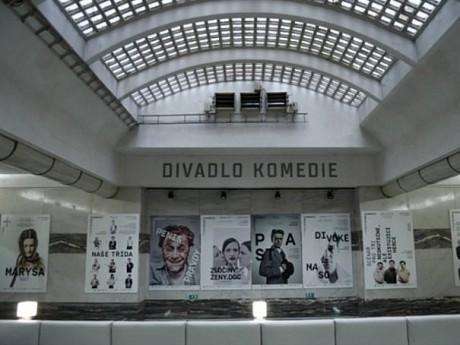 Soubor Divadlo Vompany.cz sídlí v Divadle Komedie od podzimu 2012. FOTO archiv Company.cz