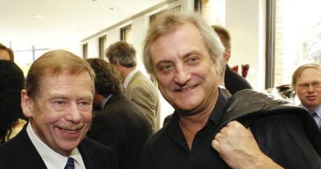 S Václavem Havlem. FOTO archiv