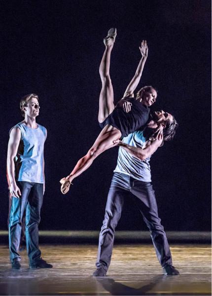 Mário Radačovský původně připravil choreografii Spolu se souborem Baletu Bratislava FOTO PAVEL HEJNÝ