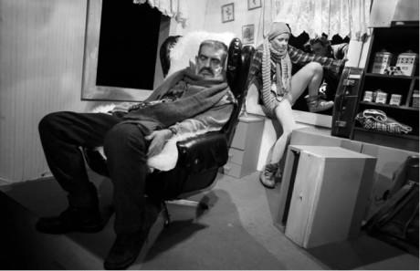 Jaroslav Achab Haidler a Erika Stárková v mrazivě bolestném Ledovém hrotu  FOTO PETR CHODURA