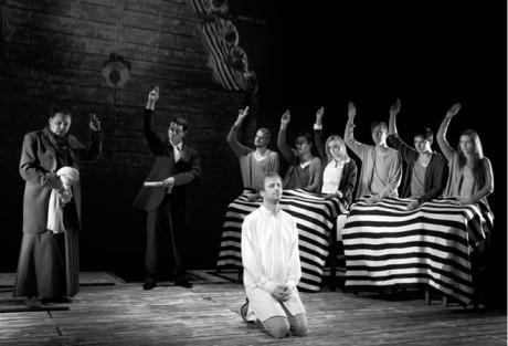 Divadelní evangelium teď a tady  aneb Ježíš ve zlínském divadle  FOTO MAREK MALŮŠEK