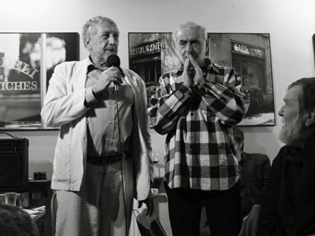 Jan Vodňanský s jiřím Weinbergerem. FOTO archiv