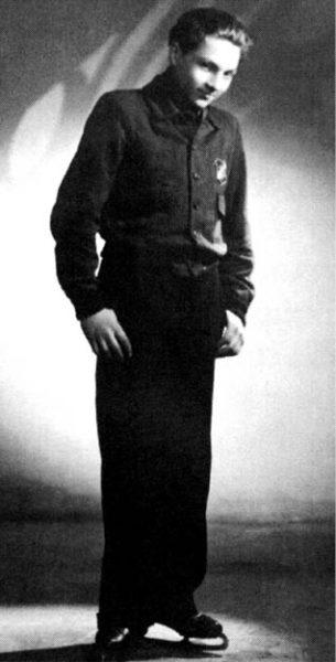 Juniorský mistr Československa v krasobruslení, 1946  FOTO ARCHIV
