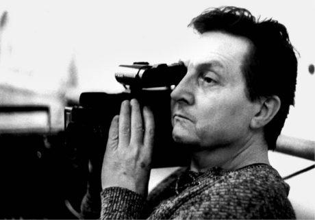 Pavel Šmok  za kamerou  FOTO ARCHIV