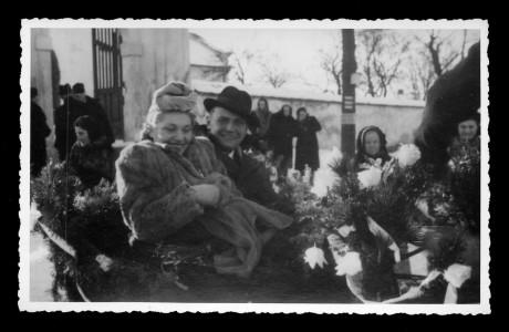 Svatba (12. 1. 1940). FOTO archiv NM