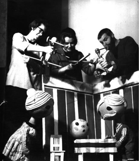 Míček flíček, Sluníčko 1964. FOTO archiv autora