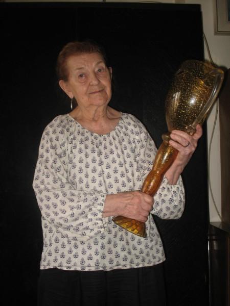 S Cenou Thálie za celoživotní mistrovství na divadle, již obdržela v roce 2006. FOTO archiv