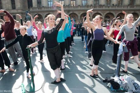 Hlavní část programu se uskuteční na piazzetě ND. Snímek je z loňského roku. FOTO archiv Vize tance