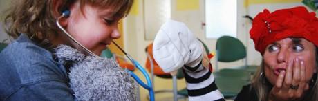 Marta Míková. FOTO Loutky v nemocnici