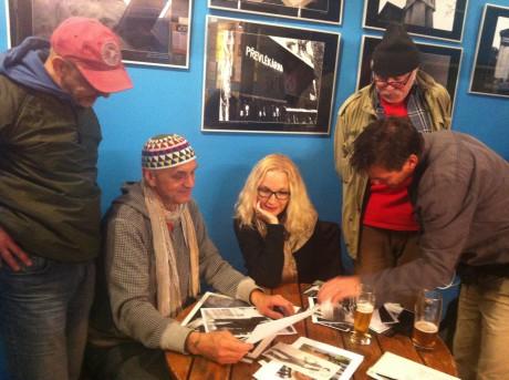 Je to vlastně love story... David vávra s režisérkou filmu Olgou Dabrowskou. FOTO archiv