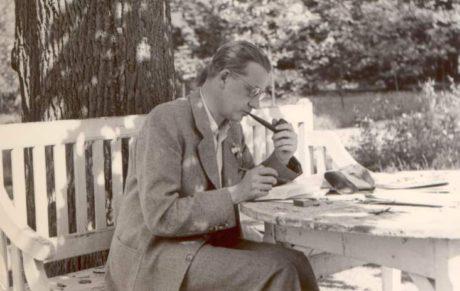 Ferdinand Peroutka, Čapkův přítel a častý host na Strži tu měl i vlastní pokoj v podkroví nazývaný Peroutkárna. FOTO archiv PKČ