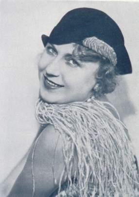 Olga Scheinplugová, herečka, spisovatelka, životní partnerka Karla Čapka a take modni ikona 20. let. FOTO archiv PKČ