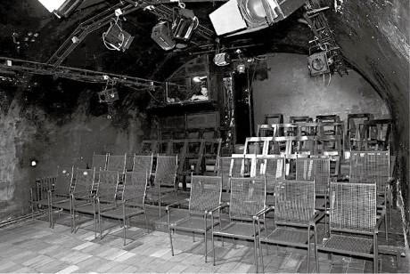 Sklepní sál  A studia Rubín  je určen maximálně pro šedesátku diváků  FOTO ARCHIV DIVADLA