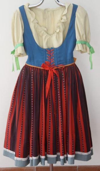 Kostým Káči z opery Čert a Káča (autor kostýmu - Adolf Born) Repro archiv Národní muzeum