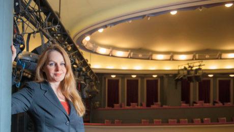 Daniela Šálková, Divadlo v Dlouhé. FOTO archiv