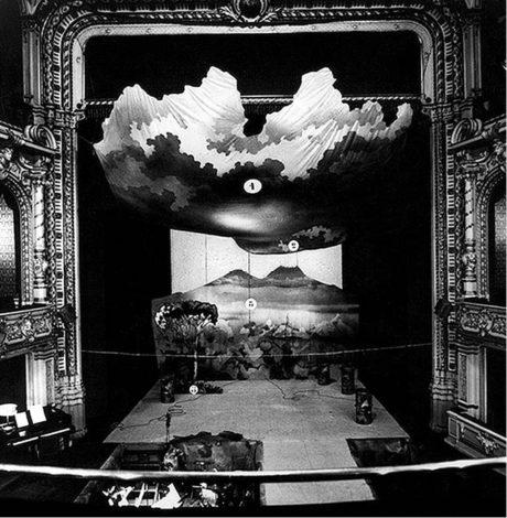 Elvio Porta: Opera za tři vajgly,  Divadlo F. X. Šaldy, 1981  FOTO MIROSLAV ŠAFKA