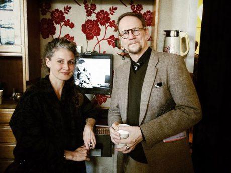 S Terezou Hofovou, interpretkou inscenace Skugga Baldur ve Stuiu Hrdinů. FOTO archiv