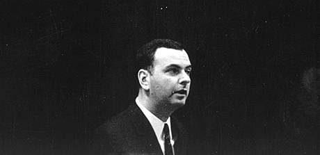 MIlan Uhde v roce 1966. FOTO archiv