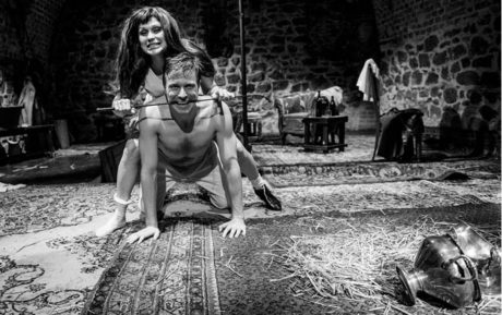 Hana Tomáš Briešťanská jako Julie omámí Jeana Zbyška Humpolce milostnými kouzly FOTO IVO DVOŘÁK
