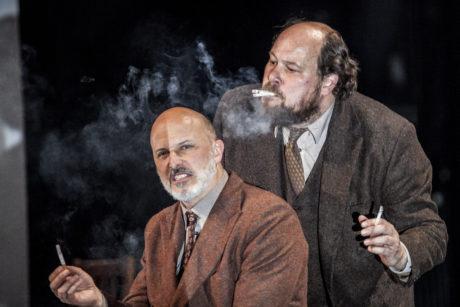 Rainer Galke a Lukas Holzhausen v inscenaci Staří mistři D. D. Pařízka FOTO ARCHIV FESTIVALU
