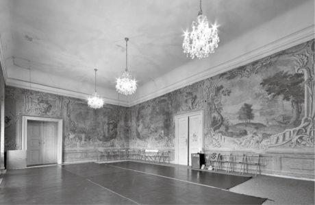 Freskový sál v bývalé Kanovnické rezidenci FOTO ARCHIV DIVADLA