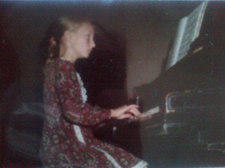 Klavíristka... FOTO soukromý archiv A.M.