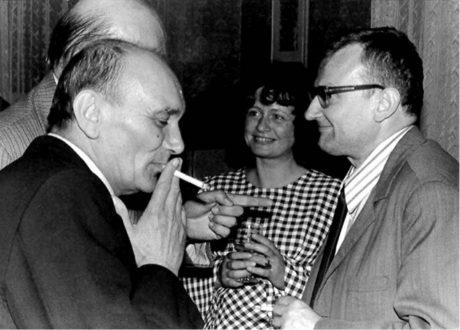 S hercem Václavem Lohniským a svou ženou Mirkou na festivalu v Úpici 1978 FOTO RODINNÝ ARCHIV