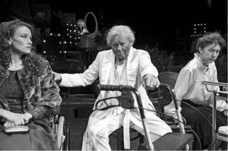 Vila Verdi je jakýmsi fešáckým domovem důchodců pro vysloužilé umělce FOTO KLÁRA ŽITŇANSKÁ