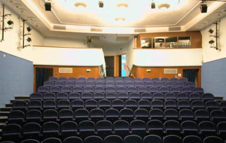 Divadlo Poolárka - sál. FOTO DP