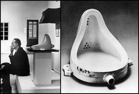 Marcel Duchamp udělal v tomto směru krok ještě závažnější. V galerii umění v New Yorku vystavil Marcel Duchamp sochu pod názvem Fountain. FOTO archiv