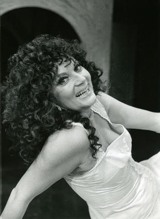 V titulní roli Bizetovy Carmen, DJKT Plzeň 1990. FOTO archiv DJKT Plzeň