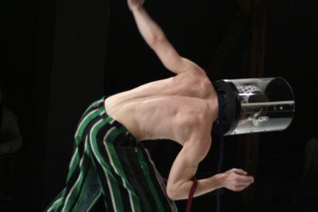 Večerní program zajistil choreograf a tanečník Jaro Viňarský se svou taneční produkcí Butticula – fool´s figures. FOTO archiv
