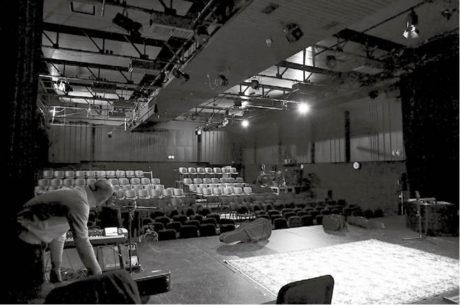 Snímek velkého sálu na Stadci  FOTO ARCHIV DIVADLA