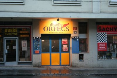 Divadlo orfeus, praha. FOTO archiv