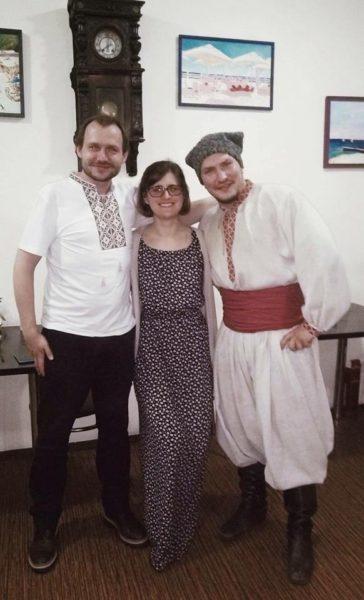Právě probíhá spolupráce nad inscenací mezi českým režisérem Břetislavem Rychlíkem a ukrajinskými herci Národního divadla Ivana Franka. FOTO FB