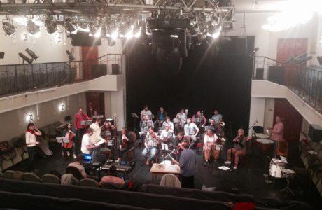 Jiná věc, ze které jsem nadšená, je divadelní orchestr. FOTO FV autorky