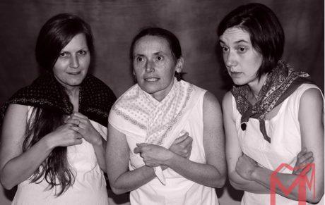 poetickou scénickou črtu však do ranku kvalitního divadla posouvá vespolné charisma tria aktérek. FOTO archiv souboru