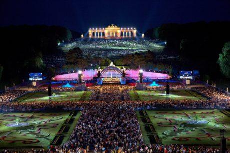 Koncert ze Schönbrunnu (pondělí 29. srpna, 20:20 h). FOTO archiv ČT