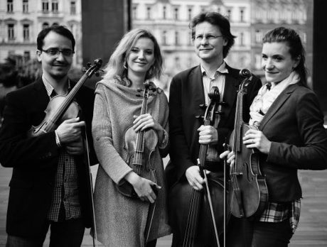 Reichovo kvarteto. FOTO archiv souboru