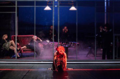 Thomas Bernhard: Mýcení (r. Krystian Lupa, Teatr Polski Wroclaw, prem. 23. 10. 2014 na scéně Jerzyho Grzegorzewského). FOTO archiv