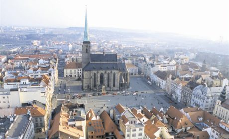 Plzeňské náměstí Republiky. FOTO archiv