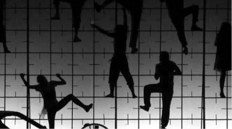 Multimediálně pojaté Metamorfózy podle Ovidia vytvořil ve spolupráci s francouzským režisérem Davidem Bobéem a studenty Studia Sedm Gogolova centra v Moskvě (premiéra 25. října 2012) FOTO SERGEJ PJATAKOV