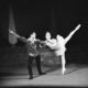 Jako Princ Desré v Čajkovského Spící krasavici (r.a chor. Miolan Hojdys, Jihočeské divadlo České Budějovice, prem.  6. 11. 1966). FOTO archiv JD ČB
