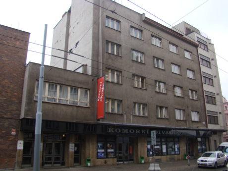 Komorní divadlo, Plzeň. FOTO archiv