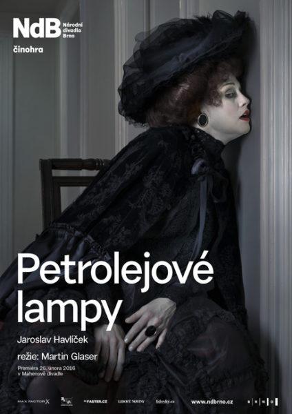 Jaroslav Havlíček, Olga Šubrtová, Martin Glaser: Petrolejové lampy (r. Martin Glaser. prem. 26. 2. 2016, ND Brno). Repro archiv