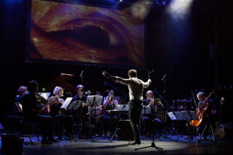 Slavnostním večerem zněla hudba Michla Nejtka v podání Orchestru Berg FOTO ANDREA MALINOVÁ