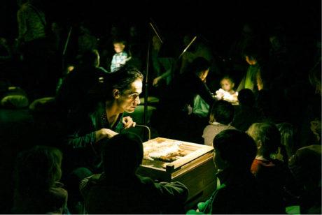 Pavol Smolárik v inscenaci Z knihy džunglí (premiéra 11. května 2007 v divadle Minor) FOTO ARCHIV DIVADLA